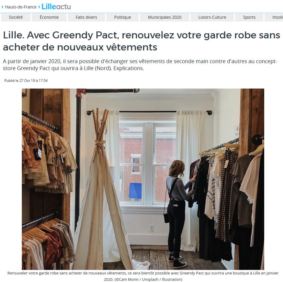 Article Lille Actu